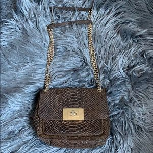 Leather Michael Kors mini shoulder bag